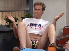 Will Ferrel...voted most patriotic