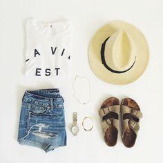 Style d'été à la plage