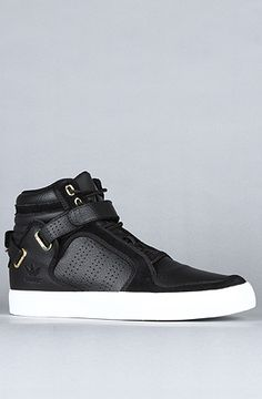 The Adi-Rise Mid Sneaker in Black by adidas
