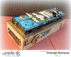 amazing altered boxes by graphic 45
