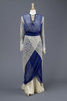 Fashions From History — Dress c.1912 Hull Museums