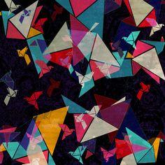 Origami Flight  by AJJ ▲ Angela Jane Johnston