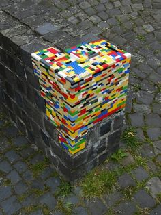 Rebuilding crumbling architecture with LEGO
