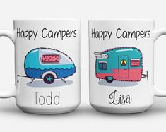 RV there yet / camping mug / camping gift / by IvoryPaige on Etsy