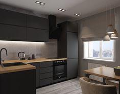 Modern Kitchen Interiors, Loft Interiors, Modern Kitchen Design, Loft Design, Küchen Design, Bathroom Design Small, Bathroom Interior Design, Loft Kitchen, Kitchen Decor