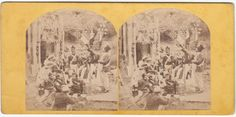 STEREOSCOPICA-STEREOVIEW-1880 C.A.PARIS FESTA IN COSTUME BY GAILLARD PARIS-ST14