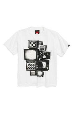 Quiksilver 'Static Set' Cotton T-Shirt (Baby Boys) available at #Nordstrom