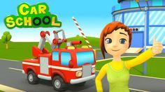 Nuovo!!!  Car School : a scuola con i camion dei vigili del fuoco | Cart...