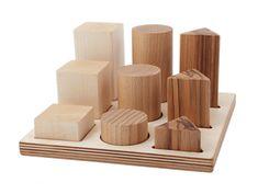 Sorteringsbräda Natur - Wooden Story