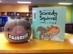 Decorate a pumpkin as your favorite book character! Will do Fall 2014.