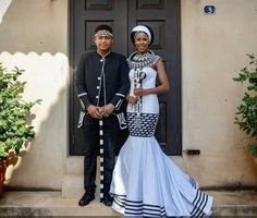 Wedding Dresses South Africa, African Wedding Attire, African Attire, African Fashion Dresses, African Dress, African Style, African Traditional Wedding Dress, Traditional Outfits, Xhosa Attire