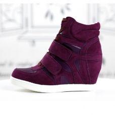 basket femme montante compense daim cuir violet scratch retro high top sneakers fashion mode 2012 2013 ref54.jpg