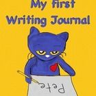 """This is a great activity for Preschool students just learning how to engage in """"journal writing."""" This activity goes along with the books Pete the ..."""