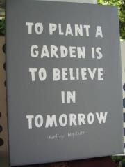 believe in tomorrow...