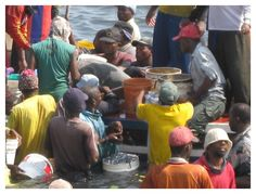The fish market in Stone Town Foto by Olga Grube