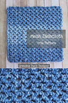 Scrubbies Crochet Pattern, Knitted Dishcloth Patterns Free, Knit Dishcloth, Crochet Patterns, Wash Cloth Crochet Pattern, Crochet Gifts, Crochet Yarn, Easy Crochet, Free Crochet