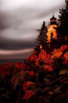 Bass Harbor Lighthouse, Maine by margo