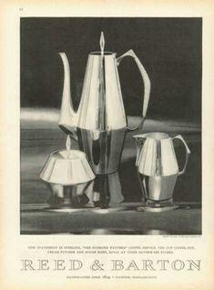 Reed Barton Sterling Silver Coffee Creamer Bowl (1958)