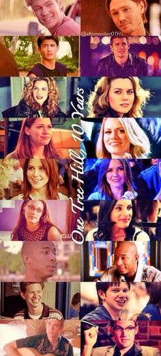 OTH characters then and now. 10 years! <3