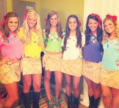 Image result for cute 13 year old girl halloween costumes with a group