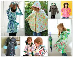 Pattern Round-Up: Raincoats & Umbrellas to Sew - A Sewing Journal - A Sewing Journal