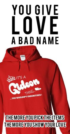 Its a Gideon Thing, You Wouldnt Understand !! Name, Hoodie, t shirt, hoodies