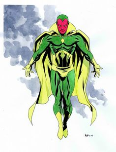 Vision by Mike McKone Comic Art