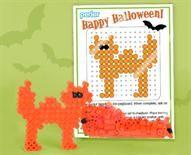 Perler® | Spooky Cat Halloween Party Favors #Halloween #favorideas @Perler Beads