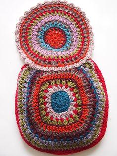 omⒶ KOPPA: Hippimekko - colored bag: