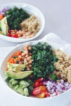 Quinoa Bowl - Healthy Vegan Recipe