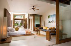 Beach Villa. Conrad Maldives Rangali Island. © Conrad Hotels & Resorts