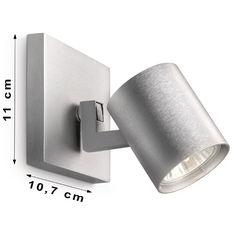 Kinkiet 1x50W GU10 srebrny 530904812 Philips