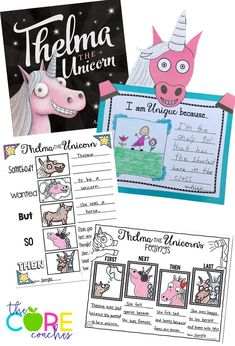 Teach how a character's feelings change with Thelma the Unicorn
