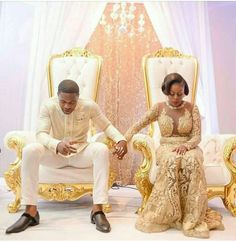 Start your marriage on the right note - 'Those that Pray Together Stay Together' Nigerian Wedding Dress, African Wedding Dress, Nigerian Weddings, African Weddings, Nigerian Bride, African American Weddings, African Attire, African Fashion Dresses, African Dress
