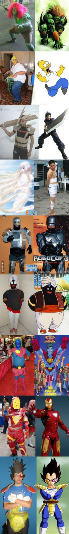 Cosplay costumes aren't for everybody