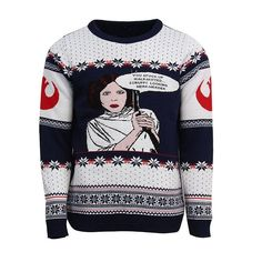 Star Wars Princess Leia Christmas Jumper / Ugly Sweater