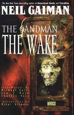 The Wake (The Sandman #10)  by Neil Gaiman, illustrators: Michael Zulli, Jon J. Muth, Charles Vess #sequentialart #graphicnovel #fantasy #sandman