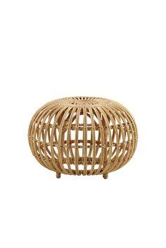 Rattan Ottoman, Decorative Bowls, Furniture, Design, Benches, Home Decor, Editorial, Backgrounds, Banks