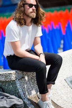 Street Looks from Pitti Uomo Spring/Summer 2016 Menswear | Vogue Paris