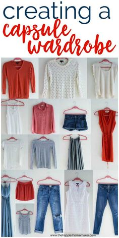 How to create a capsule wardrobe and find your style! Simplifying your wardrobe makes it easier to define your style and dress confidently! Work Wardrobe, Summer Wardrobe, Capsule Wardrobe, Wardrobe Ideas, Minimalist Wardrobe, Minimalist Fashion, Abercrombie Men, Wardrobe Makeover, Fashion Capsule