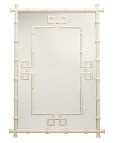 gorgeous Williams-Sonoma Fretwork Mirror