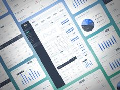 Analytics Dashboard Design by Brandon Termini for Handsome