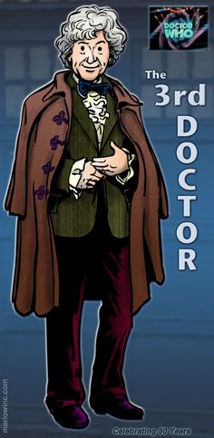 Doctor Who: 3 ~ Third Doctor Who Comics, Bbc Doctor Who, Good Doctor, Original Doctor Who, Whos On First, Peter Davison, Jon Pertwee, Martha Jones, Classic Doctor Who