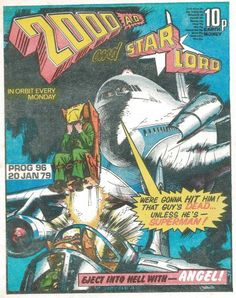 For those who know the Silver and Bronze Ages were the true Golden Age of comics Comic Book Covers, Comic Books, Ian Kennedy, Judge Dread, Abc Warriors, 2000ad Comic, Classic Sci Fi Books, Star Lord, Fantasy Books