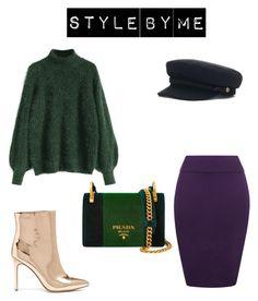 """Look #3"" by elufimova-elena on Polyvore featuring мода, WearAll, Prada, Forever 21, Brixton, Trendy и trend"