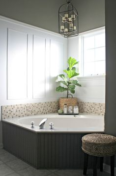 Simple Updates In The Master Bath Spa Bathroom DecorSpa