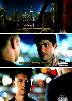 Alec and Magnus from new trailer released 12/15/16