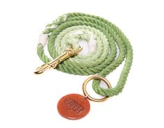 Apple Green Ombré Dog Leash FOREVER MOOTSY