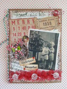 Would make a great bingo card Christmas Bingo Cards, Christmas Scenes, Christmas Tag, Christmas Projects, Christmas Ideas, Junk Journal, Journal Cards, Journal Ideas, Christmas Journal