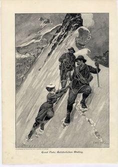 Après un si long silence... Un peu trop occupé (trois livres en chantier !), j'ai délaissé mon blog pendant quelques semaines. Certains me... Ski Posters, Travel Posters, Ice Climbing, Alpine Climbing, Spieth Und Wensky, Cairns, Gold Purchase, Rando, Mountain Trails